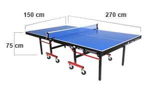 TT Table Standard Size and Specifications