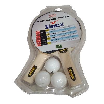 Vinex TT Bat / Ball Set - Pacer (1 Star)